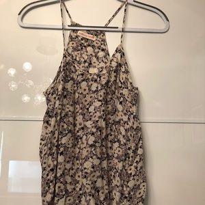 Rebecca Taylor silk floral cami blouse